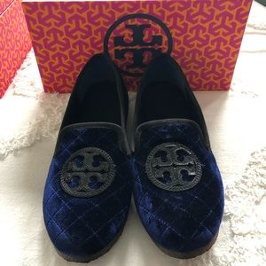 Tory Burch Billy quilted slipper size 10